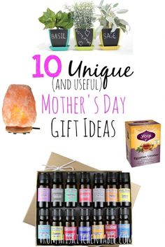 These are some great unique mother's day gift ideas that will also get used! I'd love every one of these. Great ideas to save for Christmas and birthdays too. #giftguide #giftideas #gifts #presents #christmas #birthday #mothersday #mom #frugal #savingmoney