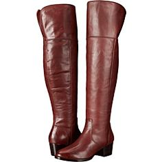 Frye Clara Over-The-Knee Wide Calf Womens Boots. Leather Over The Knee Boots, Wide Calf Boots, Thigh High Boots, Leather Boots, Brown Leather, Frye Shoes, Discount Shoes, Riding Boots, Heeled Boots