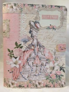 annes papercreations: Graphic 45 Gilded Lily journal mini Album - Tutorial
