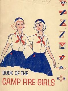 Camp Fire Girls.  Blue Birds; Camp Fire Girls; Horizon