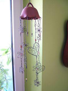 Dekorácie - zvonkohra natur 50cm - 6642550_