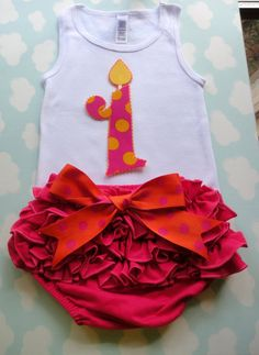 Items similar to Birthday Tank top and Bloomer SET on Etsy 1st Birthday Outfits, 1st Year, Baby Love, Tank Tops, Trending Outfits, Celebrities, Handmade Gifts, Etsy, Women