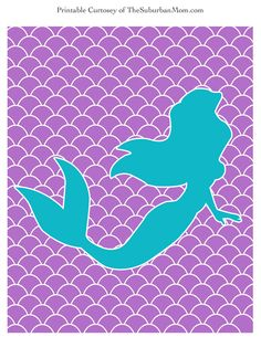 Little-Mermaid-Printable-Poster.jpg 2.550×3.300 Pixel