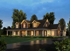 Rachel Country Ranch Home Plan 121D-0026   House Plans and More