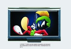 Looney Tunes Marvin The Martian Business Card Holder