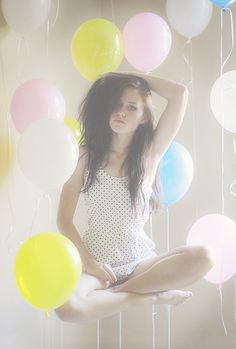 Love the light & balloons