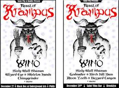 cool Wino To Headline Feast Of Krampus Shows Check more at http://www.globaldarkness.net/wino-to-headline-feast-of-krampus-shows/