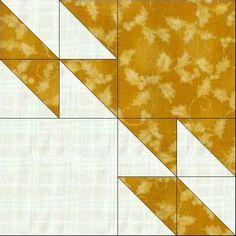 Hunter Star tutorial | via Cascade Quilts