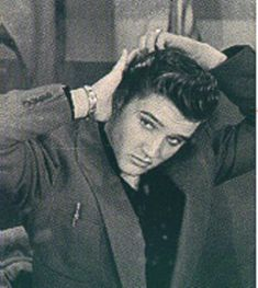 KING of the pompadours and rock-n-roll