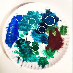 Day 12: #100dayproject  #partpatternplayprocess #emmade #studiotime #palette #paint