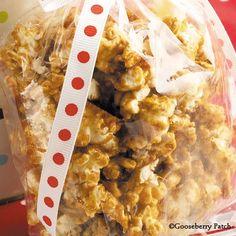 Gooseberry Patch Recipes: Dad's Caramel Popcorn