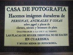 Anuncio publicitario. Sevilla.