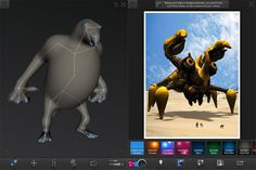 Love Spore's robust creature creator tool? Got an iPad? Autodesk has something for you. The company's latest iPad app, Creatures, is a streamlined monster mak...
