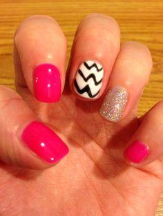 Just got my nails did!!!