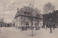 Gasthaus zum Lindenhof am Bahnhof Schulzendorf bei Tegel Um 1900-1930