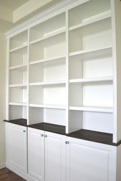 Tea Rose Home: Built-In Bookcase Done!