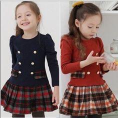 Resultado de imagem para vestidos originales de invierno para niña