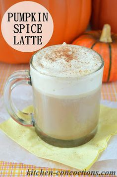 Kitchen Concoctions: Pumpkin Spice latte, might have just changed my life!!