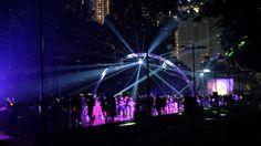 Disco Road at Electro Run. The first glowing night run in Jakarta
