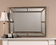 For above the buffet with sconces on each side  Shop Wayfair for Wall Mirrors to match every style and budget. Enjoy Free Shipping on most stuff, even big stuff.