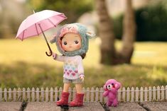 Kawaii Doll, Rainy Days, Girl Dolls, Minis, Projects To Try, Barbie, Teddy Bear, Christmas Ornaments, Toys