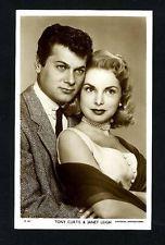 Vintage TONY CURTIS JANET LEIGH   Picturegoer D Series Postcard 1950s