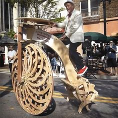Bikes Made In Jacksonville Florida A penny farthing style bike