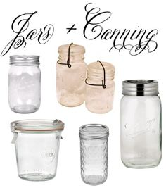 Mason Jars-i have all different kinds/sizes and use them for literally EVERYTHING!