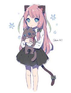 Картинка с тегом «anime, anime girl, and kawaii»