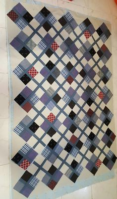 Good quilt for a man. Perhaps from shirts recycled. 2019 Good quilt for a man. Perhaps from shirts recycled. The post Good quilt for a man. Perhaps from shirts recycled. 2019 appeared first on Quilt Decor. Flannel Quilts, Plaid Quilt, Boy Quilts, Scrappy Quilts, Denim Quilts, Shirt Quilts, Colchas Quilt, Tie Quilt, Patch Quilt
