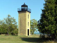 Peninsula Point Light, Lake Michigan