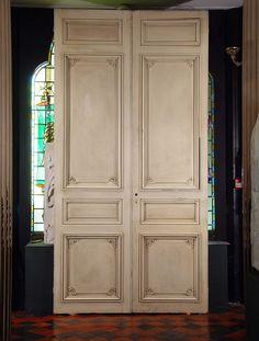 Good Antique French Doors | Pair Antique French Doors Louis XVI Style, 19  Century.