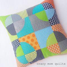 crazy mom quilts: quilt improv blog tour
