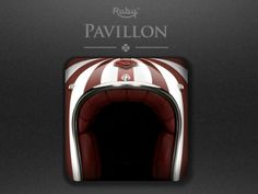 Ruby helmet Iphone icon by glacealeau