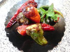Pimientos rellenos – Peperoni ripieni - Stuffed Peppers italian food, cocina italiana, comida italiana, italian recipes