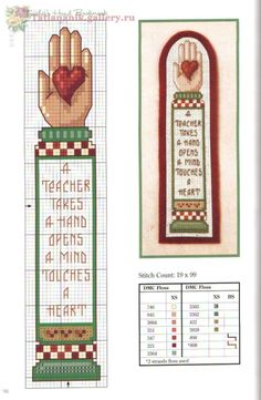 Beginning Cross Stitch Embroidery Tips - Embroidery Patterns Cross Stitch Bookmarks, Cross Stitch Books, Cross Stitch Borders, Counted Cross Stitch Patterns, Cross Stitch Charts, Cross Stitch Designs, Cross Stitching, Cross Stitch Embroidery, Embroidery Patterns