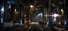 Subway Repair by atomhawk.deviantart.com on @deviantART