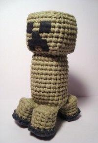 Free Amigurumi Patterns: Minecraft Creeper - Crochet