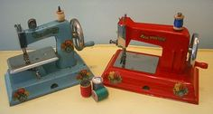 Vintage toy machines