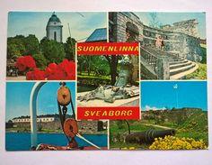 Postcard Suomenlinna fortress, Finland 1977