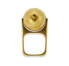 A Gold Ring by Dihn Van for Cartier #gold ring #dinh Van #cartier