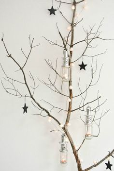 Kerstlampjes als decoratie (via Bloglovin.com )