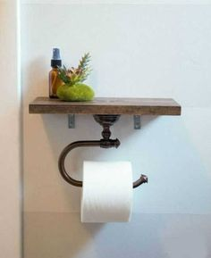9 DIY Items You Never Realized Your Bathroom Needed | Toilet paper ...