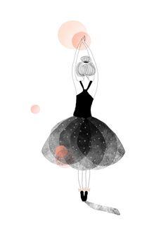 My Lovely Thing 'Kaart Ballerina Roze'