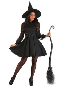 What kind of potion will you conjure up in the Women's Spellbinding Sweetie Costume? Cute Witch Costume, Witch Costumes, Last Minute Halloween Costumes, Halloween Outfits, Diy Costumes, Costume Ideas, Halloween Ideas, Hocus Pocus Halloween Costumes, Halloween Party
