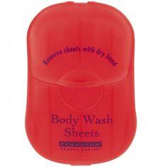 Body Wash Sheets