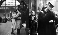 These wartime good-byes. | The 50 Most Romantic Things That Ever Happened