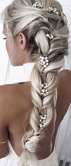 These #floralbraids are so stunning! Shop #hair at Feelunique: www.feelunique.com/hair