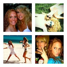 Taylor and her BFF, Abigail Anderson.