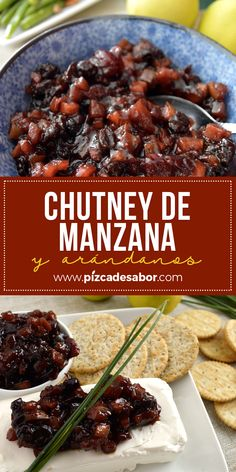 Apple and blueberry chutney. Brownie Desserts, Healthy Desserts, New Recipes, Favorite Recipes, Avocado Pasta, Dehydrated Food, Chutney Recipes, Sweet Sauce, Tasty Bites